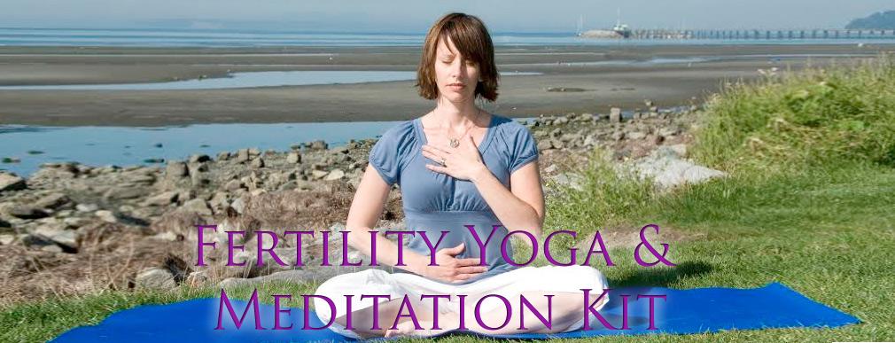 Fertility Yoga & Meditation Kit